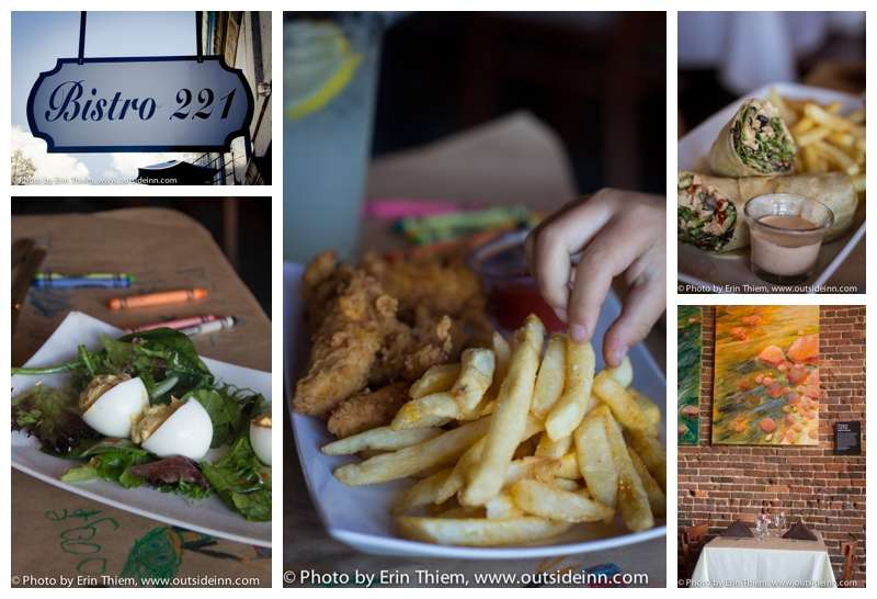 Eating Out in Nevada City, Bistro 221