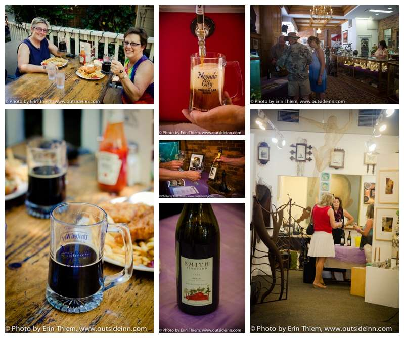 Nevada City Wine & Beer Tastings, Foreign Car Show event