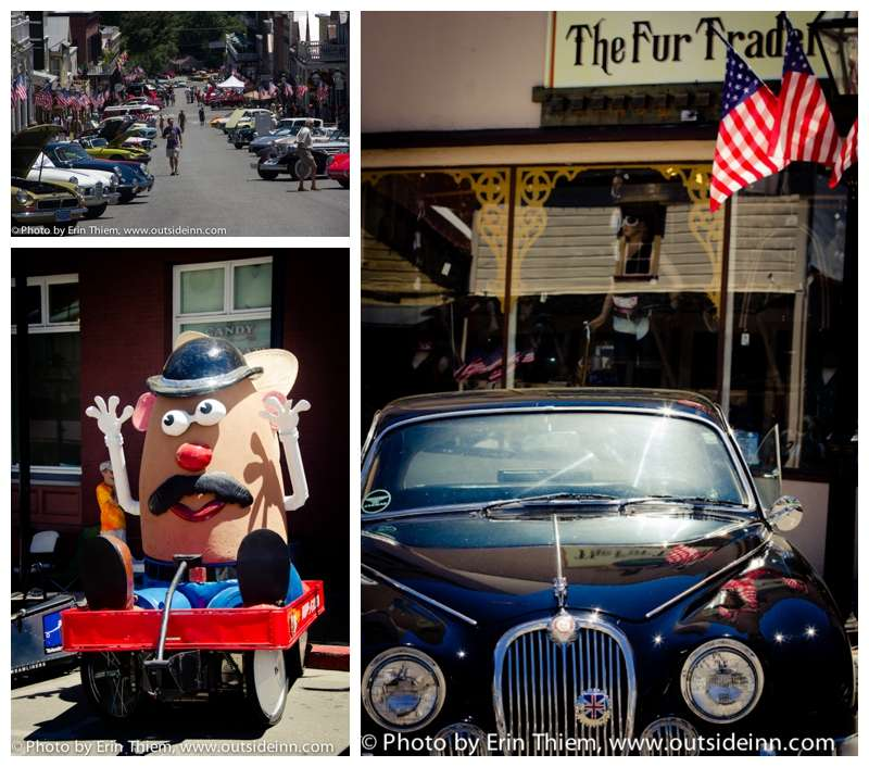 Mr. Potato Head Nevada City Soap Box Derby photo, Foreign Car Show