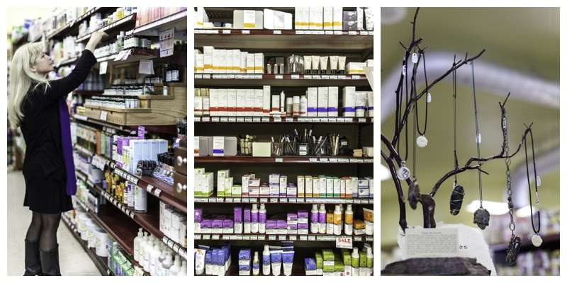Nevada City's California Organics Health and Beauty Department