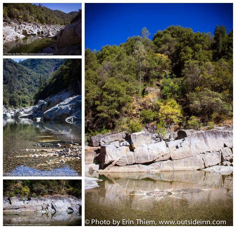 Swimming in the South Yuba River, Nevada City, California