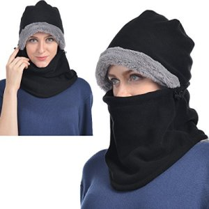 Balaclava Fleece Hood for Men or Women