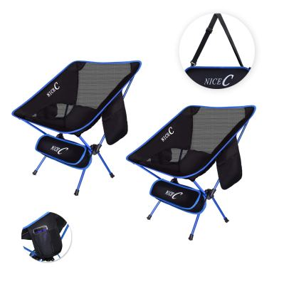 NiceCUltralight Portable Folding Camping Backpacking Chair