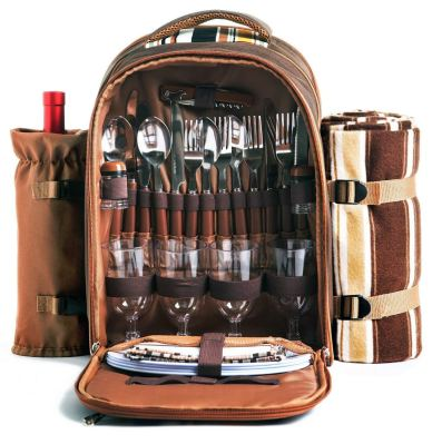 Picnic Backpack Bag for 4 Person