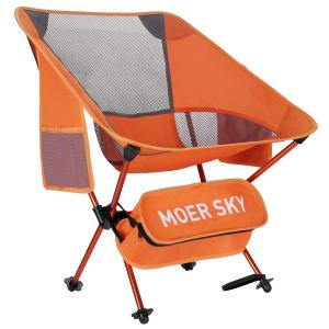 Portable Camping Chair, Lightweight Compact Folding Backpacking Chair