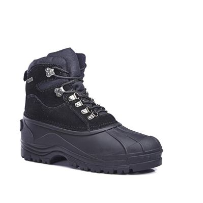 KINGSHOW - Mens M1280 Waterproof Rubber Sole Winter Snow