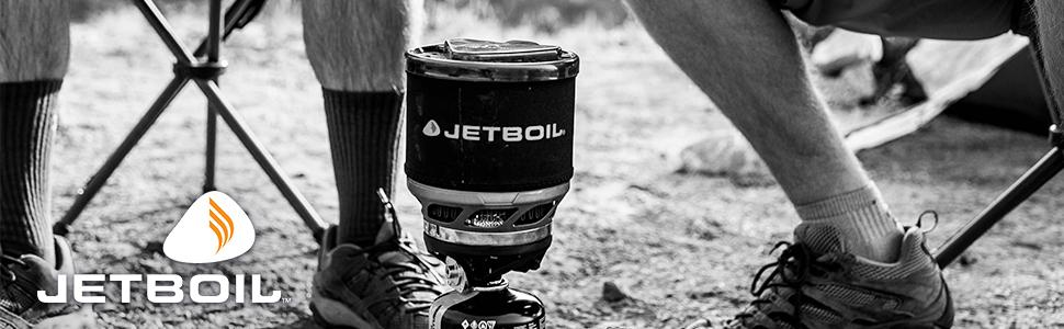 Jetboil MiniMo Camping Stove Cooking