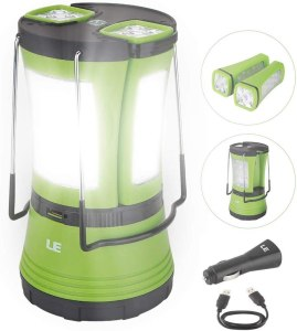 LE LED Camping Lantern Rechargeable