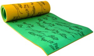 The Original Aqua Lily Pad Water Mat for Lakes