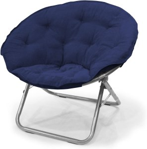 Urban Shop Micro Suede Saucer Chair