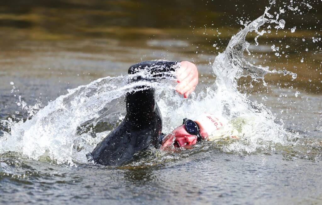 COn Doherty swim