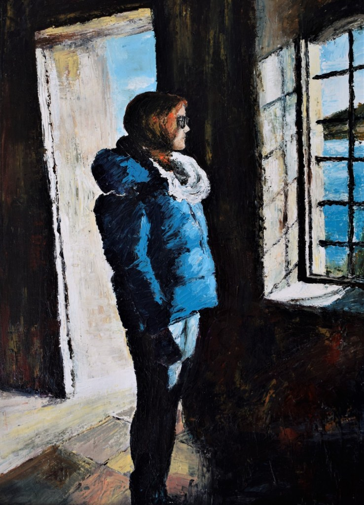Memories... | Acrylic on canvas palletknife | 50x70 cm