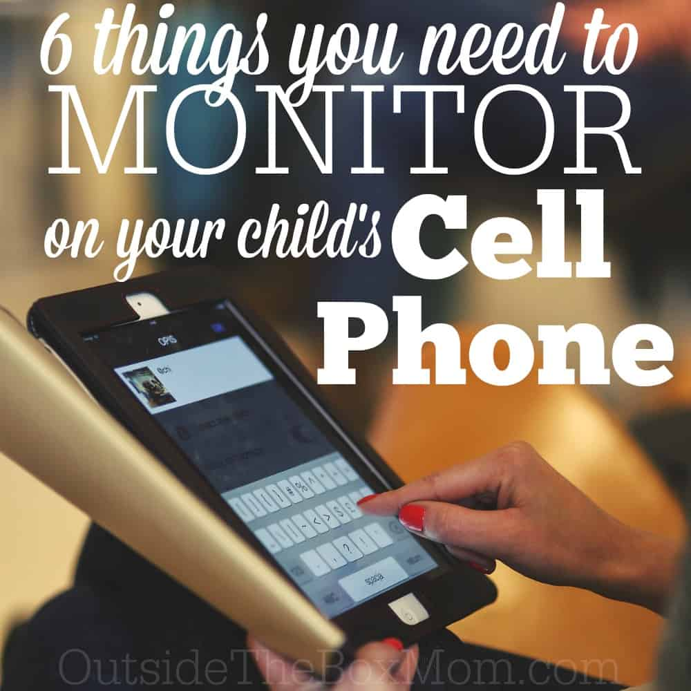 monitor child cell phone