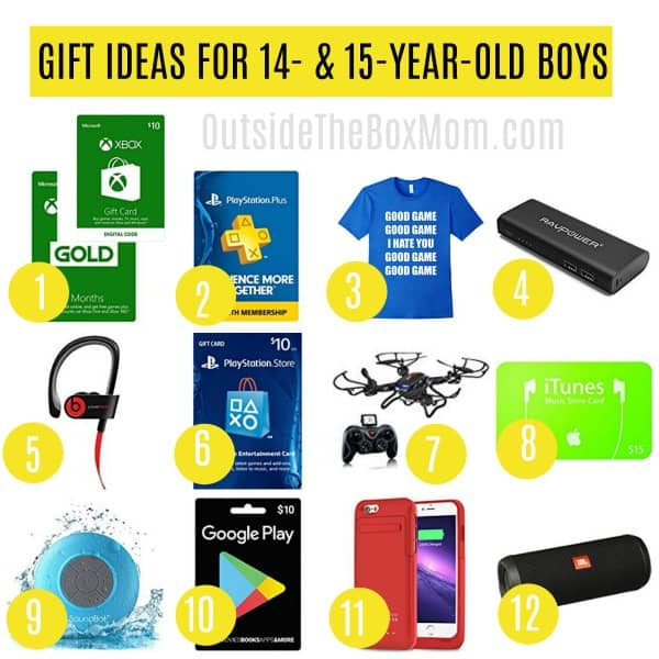 Cool Birthday Gifts 14 Year Old Boys