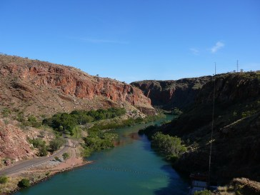 The start of the Ord River