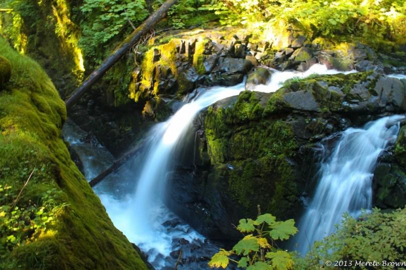 Sol Duc Hot Falls