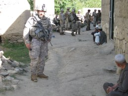 ISU LEP Gilbert at Bomb Maker Niamat's Qalat June 2010