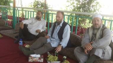 ISU Gen Andrabi, Shearman and Estavillo lunch meeting