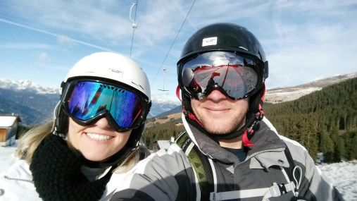 skiing austria alps