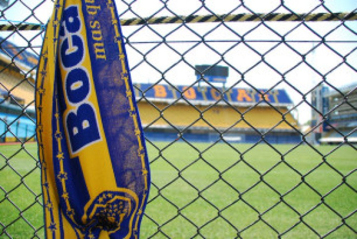The famous blue and yellow of Boca Juniors is down to a shipping company. Credit: Borja Garcia de Sola Fernandez via Creative Commons