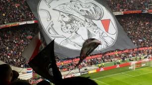 Ajax banner Amsterdam Arena