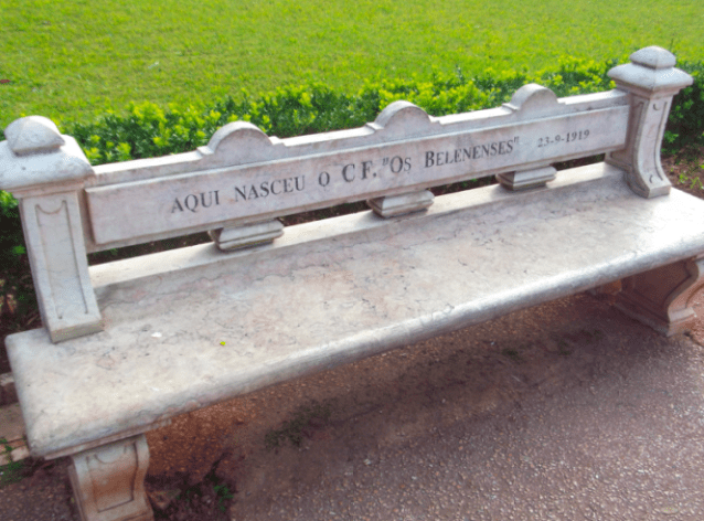 The bench where Be