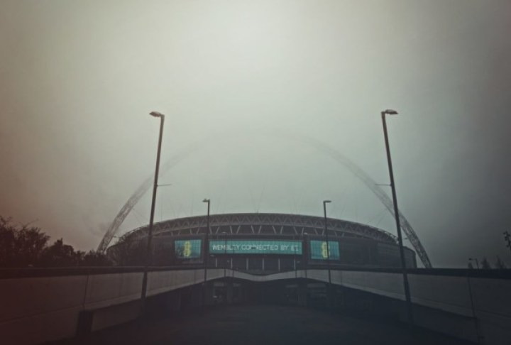 Gloomy Wembley Stadium. Credit: Coombesy via Pixabay.com