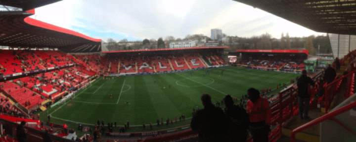 The Valley panoramic Charlton Athletic