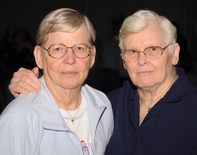 2 For Over  Lesbians Over Age Fiftys Loaf Founding Mother Arden Eversmeyer L And Partner Charlotte Avery Established The Social Group For