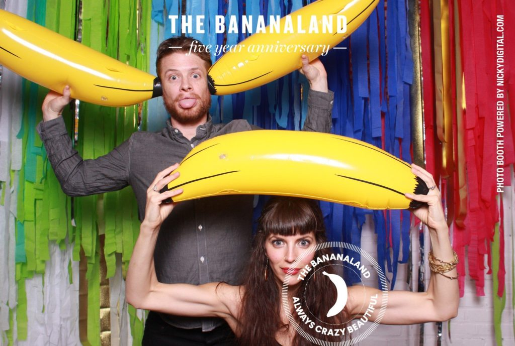 Bananaland 5 Year Anniversary Photo Booth by OutSnapped