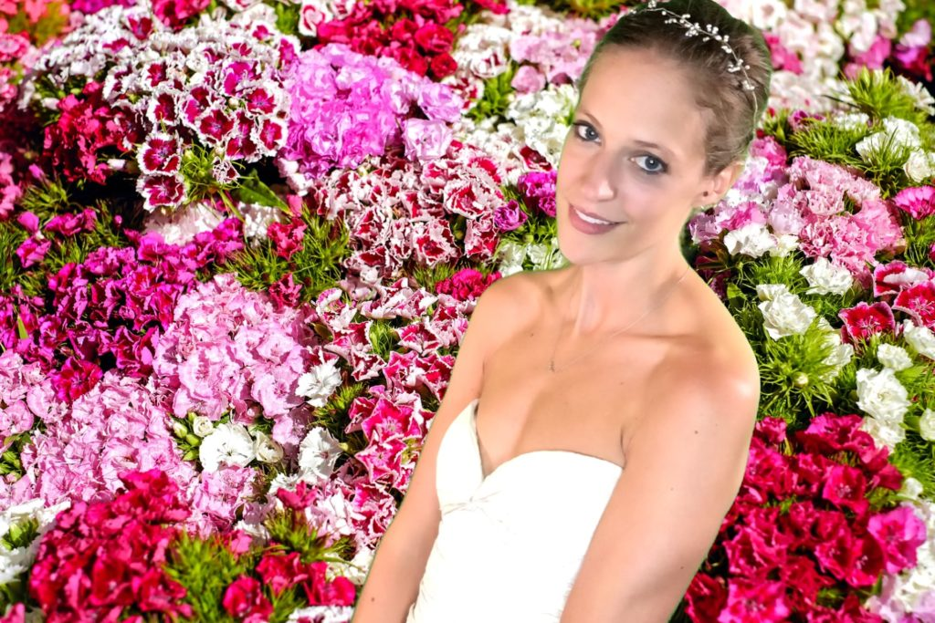 OutSnapped's Green Screen Wedding Photo Booth Floral Wall For All Edition