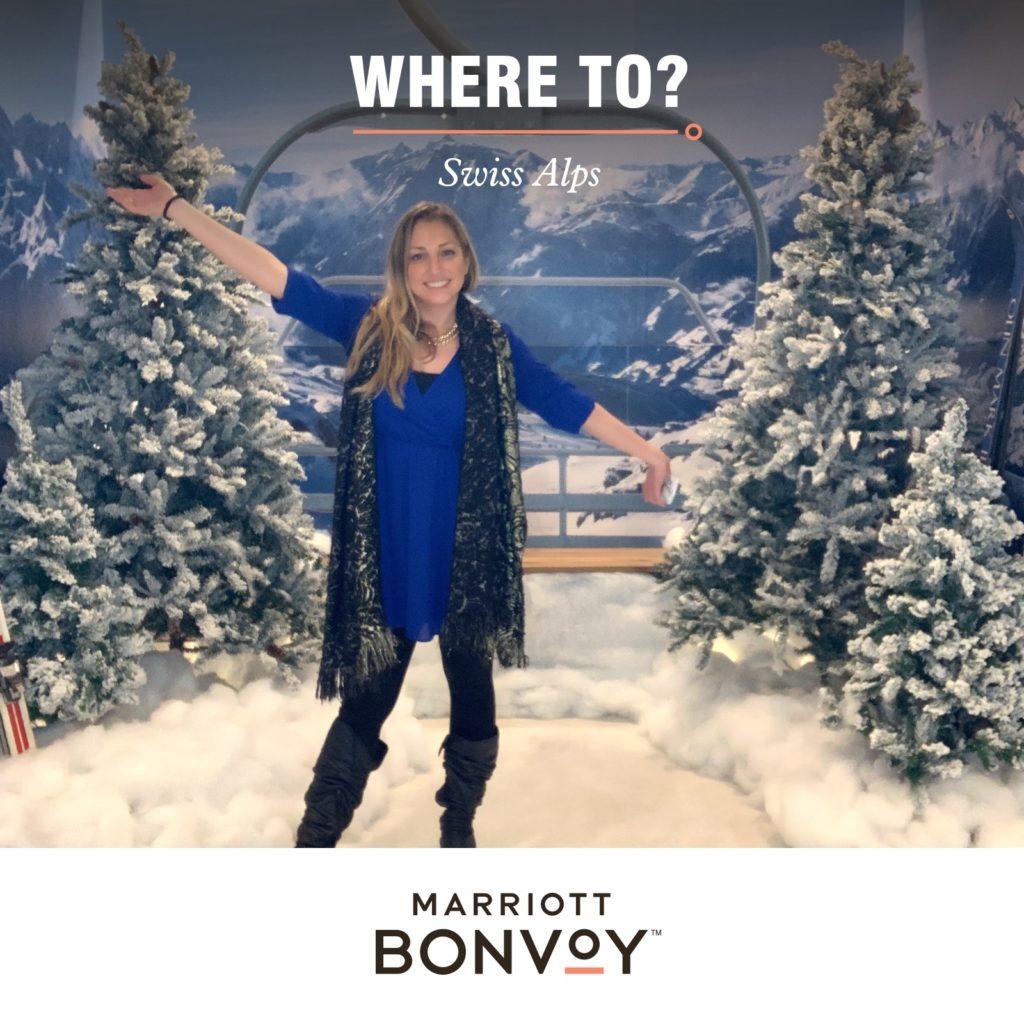 Marriott Bonvoy Launch: Swiss Alps Experience Still Photo Booth Photo