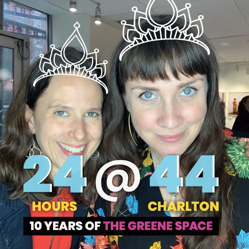 Photo Booth Rental NYC for 24@44 Greene Space Photo Booth Activation by OutSnapped