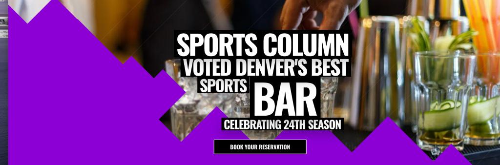 Denver Sports Column Header Image Section