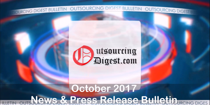 October 2017 News And Press Releases Bulletin (Video)