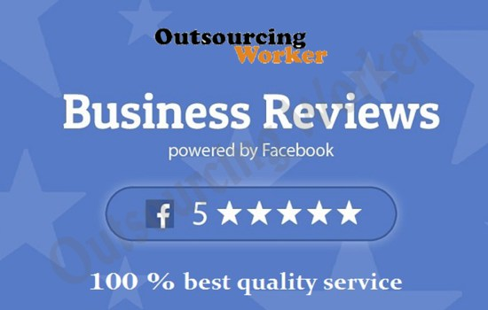 Organic Best Quality Facebook Reviews