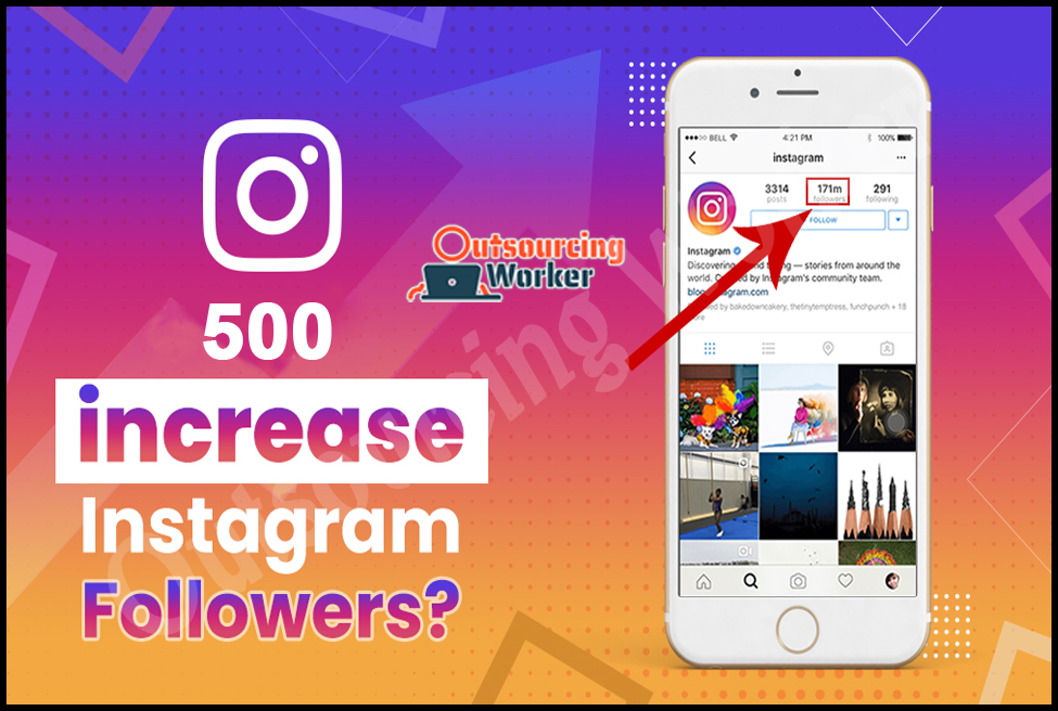 I Will Provide 500 High Quality Instagram Followers