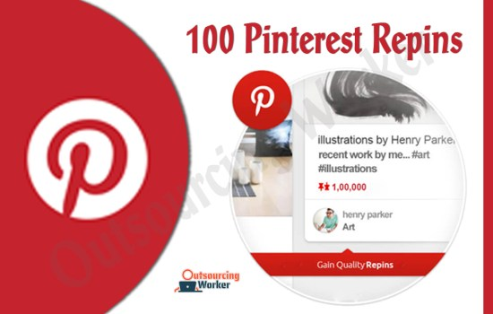 I will Give you 100 Pinterest Repins