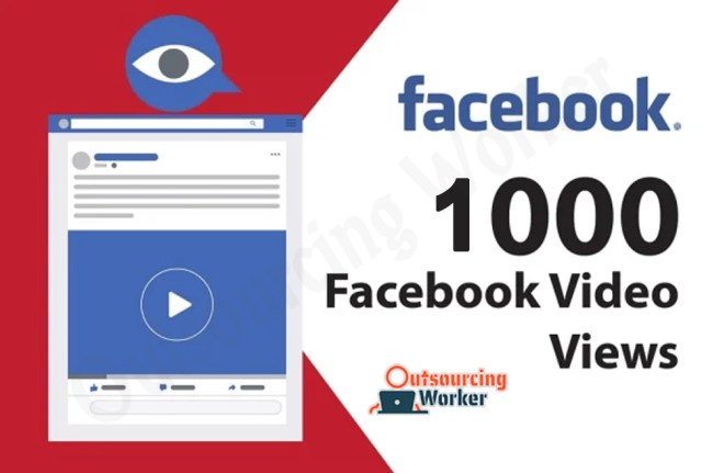 Real Instant 1000 Facebook Video Views