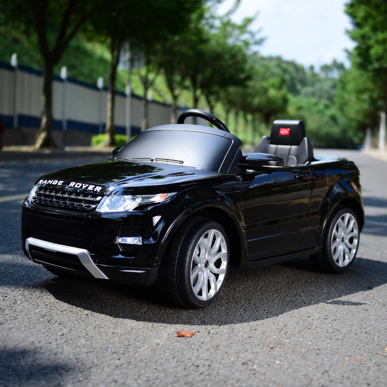 Land Rover Kids 12V Double Engine Ride Car Electric Remote