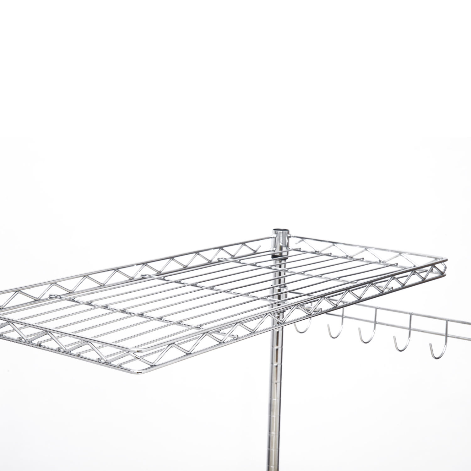 47 4 Tier Bakers Rack Kitchen Cart Microwave Stand