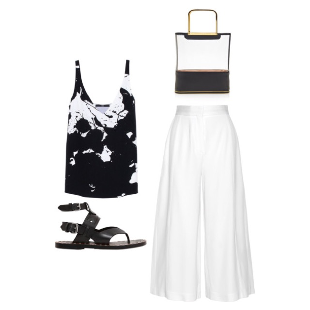 13 Ways To Wear Your White Culottes