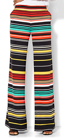 The Daily Find: Palazzo Pant – Stripe