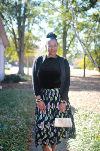 Blogger Style: Vintage Pleated Skirt