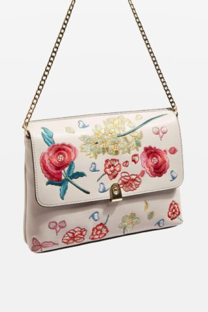 The Daily Find: Floral Embroidered Clutch Bag