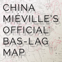 Here it is! The official map of Bas-Lag as drawn by China Miéville!