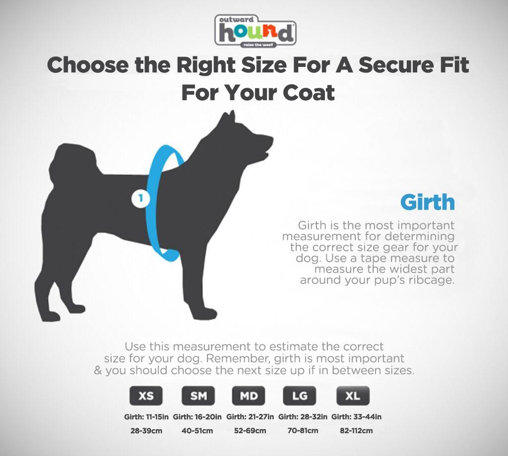 dog life jacket sizing guide outward hound