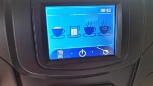 coffee machine menu screen me-712
