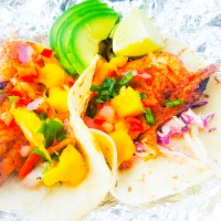 Grilled Pacific Rock Fish Tacos
