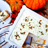 Pumpkin Cream Bars